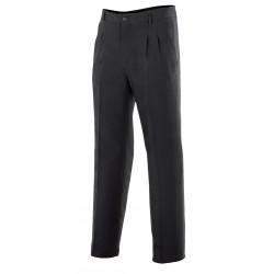Pantalón con pinzas negro