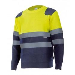 Jersey bicolor de alta visibilidad