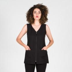 Blusa s/mangas negra
