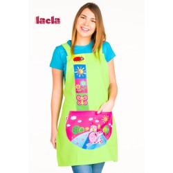 Estola Maestra School caracol pistacho