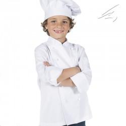 Chaqueta cocinero Infantil c/blanco