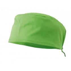 Gorro sanitario verde lima