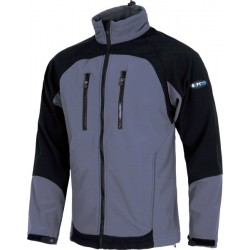 Chaqueta Workshell Gris -negro