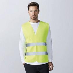 Chaleco amarillo fluorescente AV